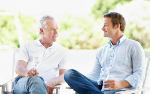 Father-and-Adult-Son-discussion